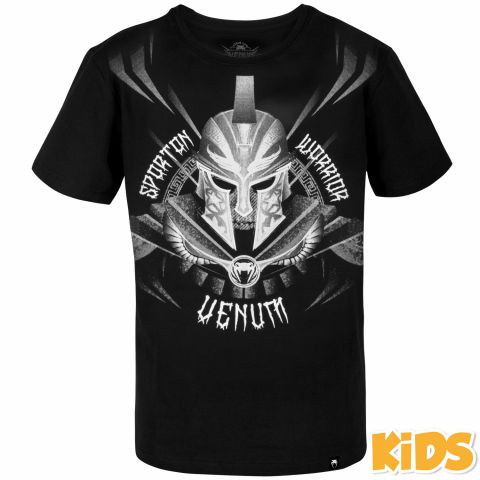 Venum Gladiator Kids T-shirt - Black/White
