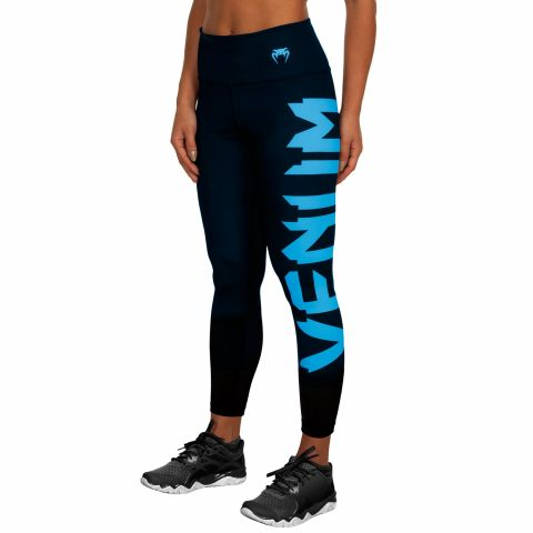 Venum Giant Leggings - Schwarz/Cyan