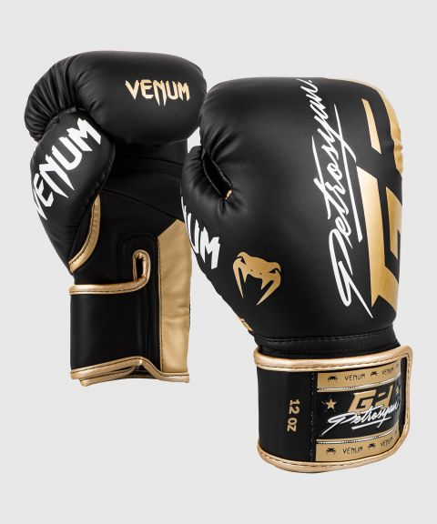 Venum Petrosyan Boxing Gloves - Black/Gold