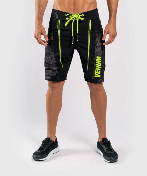 Venum Aero 2.0 Boardshorts - Black/Neo Yellow