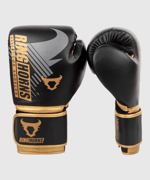 Gants de boxe Ringhorns Charger MX - Noir/Or