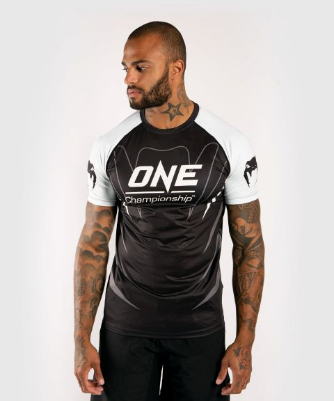 Venum x ONE FC Dry Tech T-shirt - Wit/Zwart