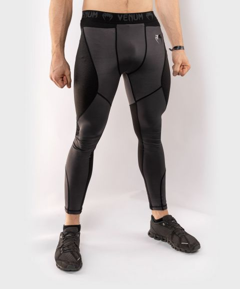 Venum G-Fit Compresssion Tights - Grey/Black