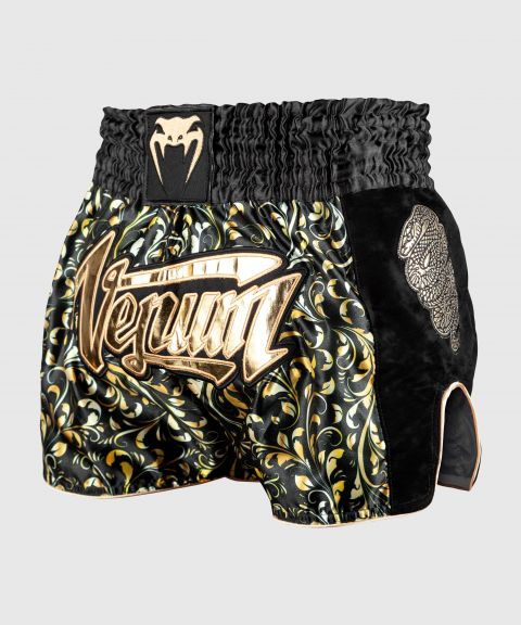 Short de Muay Thai Venum Absolute - Noir/Or - Exclusivité