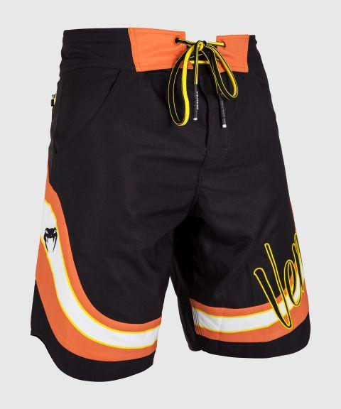 Venum Cutback Boardshorts - Black/Yellow