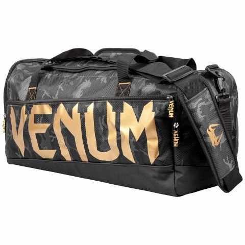 Venum Sparring Sporttas - Donkercamouflage/Goud