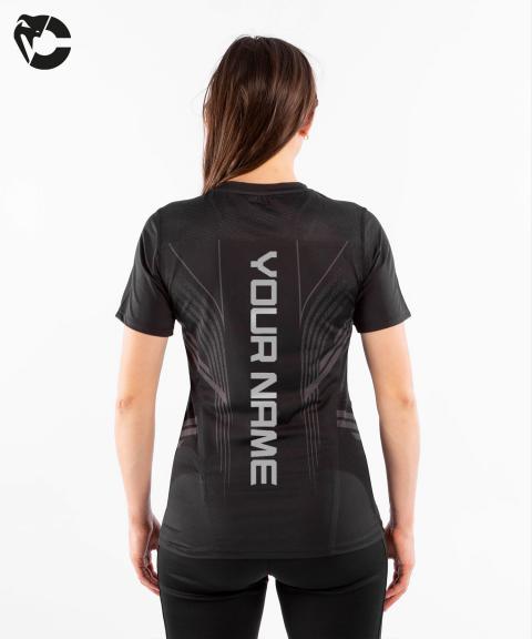 T-shirt Technique Femme Personnalisé UFC Venum Authentic Fight Night - Noir