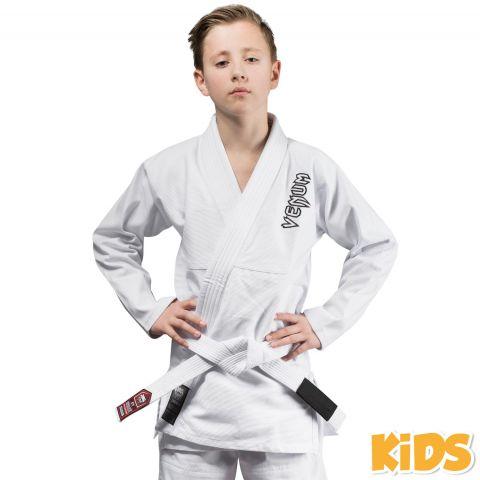 Kimono JJB enfant Venum Contender + Ceinture blanche offerte - Blanc