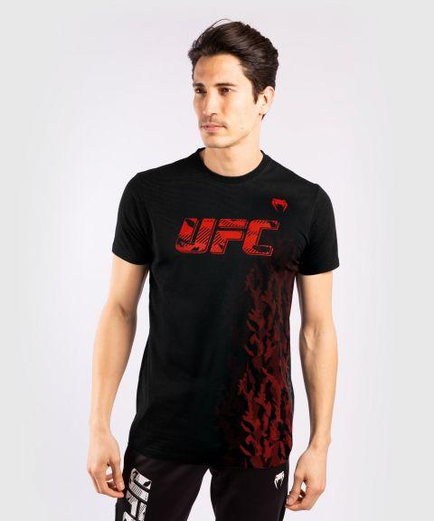 UFC Venum Authentic Fight Week T-shirt met korte mouwen voor heren - Zwart