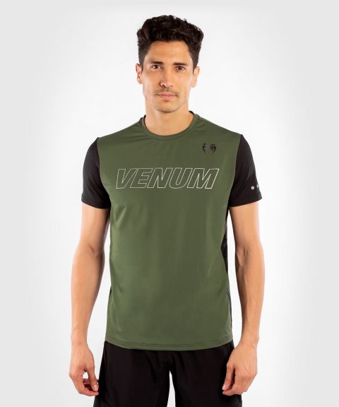 Venum Classic Evo Dry Tech T-shirt - Khaki/Silver