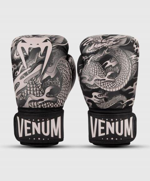 Guanti da boxe Venum Dragon's Flight - Nero/Sabbia