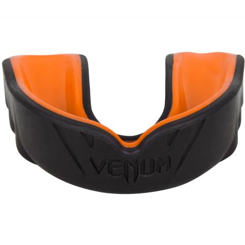 Protège-dents Venum Challenger (Blanc/Rouge/Noir) - Noir/Orange