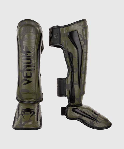 Venum Elite scheenbeschermers - Kakicamouflage