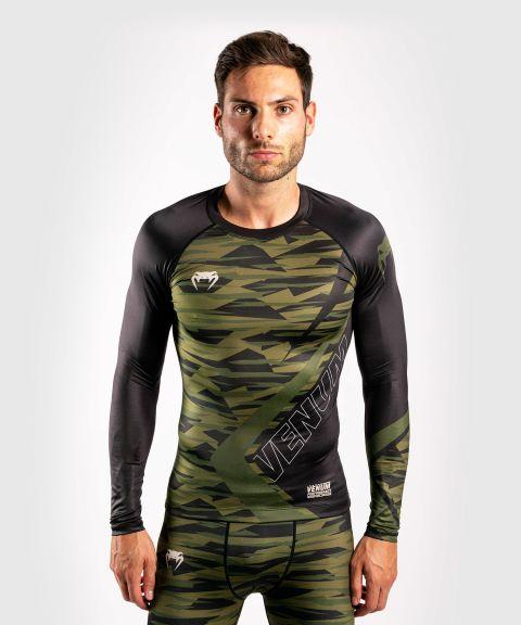 T-shirt de compression Contender 5.0 - Manches longues - Camouflage kaki