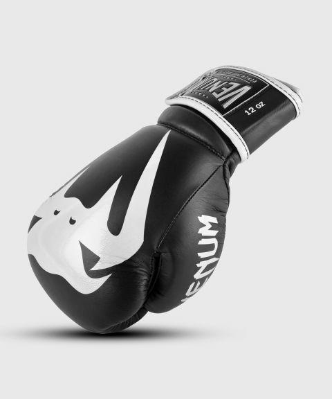 Guantoni da boxe professionali Venum Giant 2.0 – Velcro - Nero/Bianco
