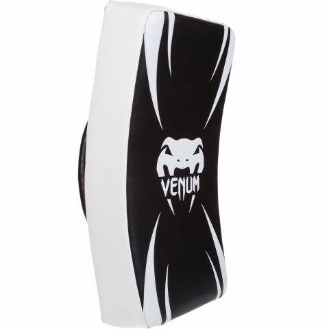 Long Kick Shield Venum Absolute - Blanco/Negro