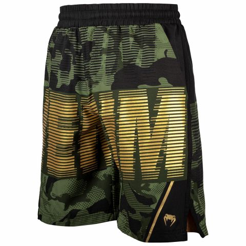 Venum Tactical Trainings-Shorts - Camo Wald/Schwarz