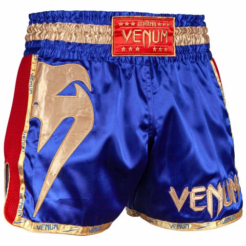 Muay Thai Shorts Venum Giant - Navy/Gold