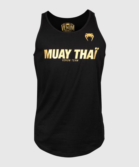 Venum Muay Thai VT Tanktop - Zwart/Goud