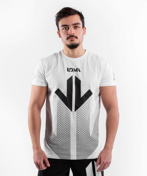 Venum Arrow T-Shirt Loma Edition - Weiß/Schwarz