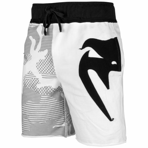 Venum Assault Cotton Shorts - White/Black