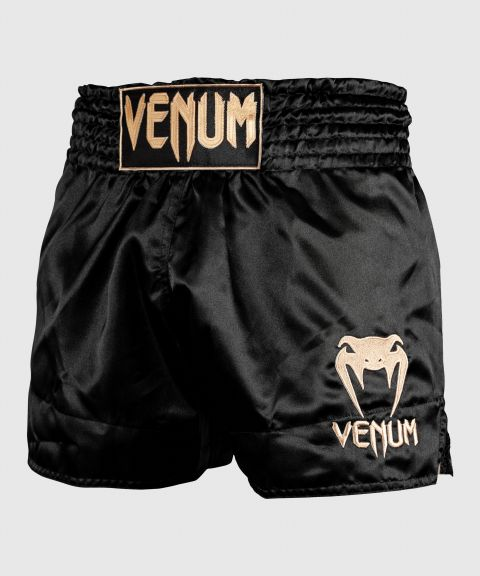 Short de Muay Thai Venum Classic - Noir/Or