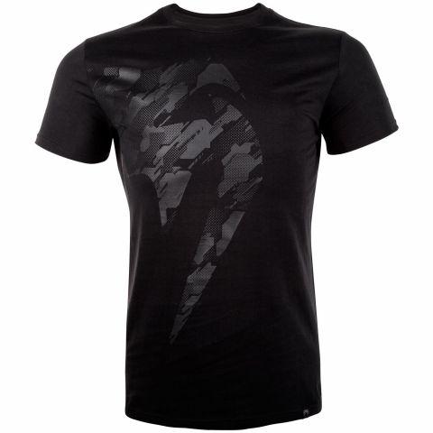 Camiseta Venum Tecmo Giant - Negro/Negro