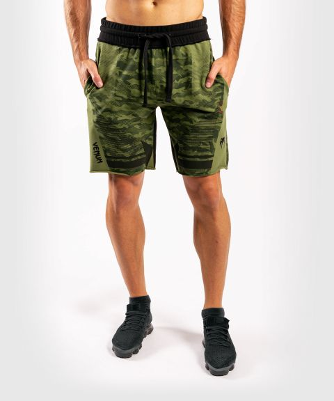Short en coton Venum Trooper - Forest Camo/Noir