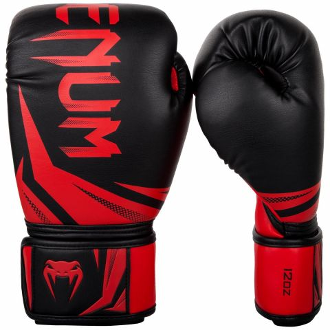 Venum Challenger 3.0 Boxing Gloves - Black/Red