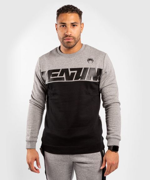 Venum Connect Crewneck Sweatshirt - Black/Dark heather Grey