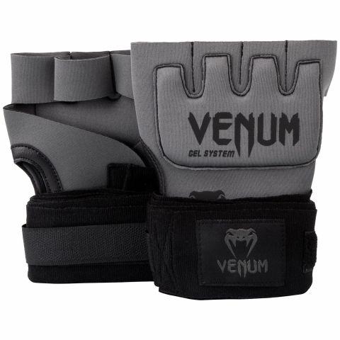 Venum Kontakt Gel Handschuh Wraps - Grau/Schwarz