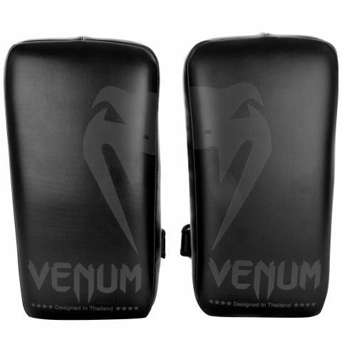 Venum Giant Kick Pads - Black/Black (Pair)