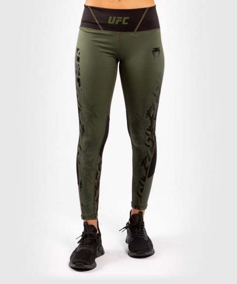UFC Venum Authentic Fight Week Damen Performance Tight - Khaki