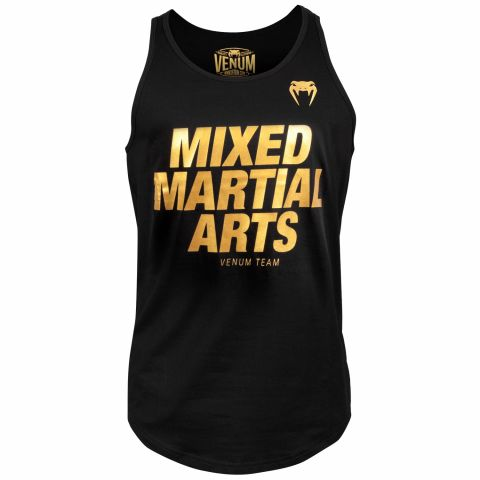 Venum MMA VT Tank Top - Black/Gold