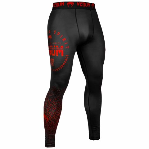 Venum Signature Compresssion Tights - Black/Red