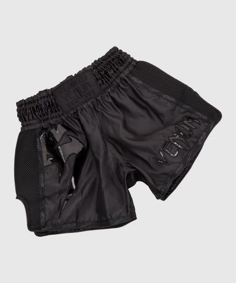 Short de Muay Thai Venum Giant - Noir/Noir