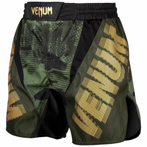 Fightshort court Venum Tactical - Forest Camo/Noir