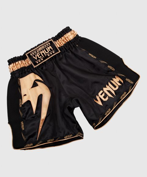 Venum Giant Muay Thai Shorts - Schwarz/Gold