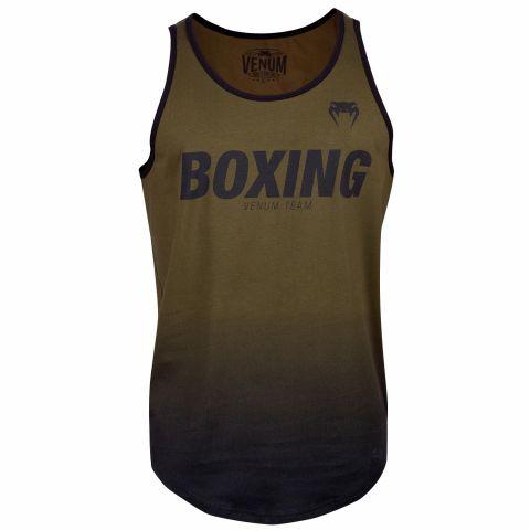 Camiseta de tirantes Boxing VT de Venum - Kaki/Negro