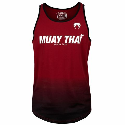 Venum Muay Thai VT Tank Top - Red Wine/Black