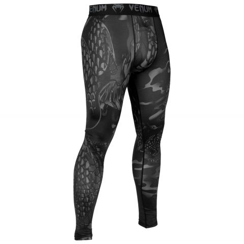 Pantalon de compression Venum Dragon's Flight - Noir/Noir