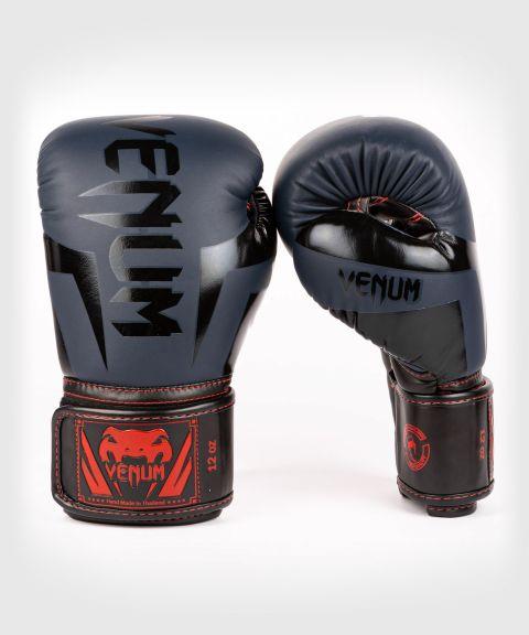 Gants de boxe Venum Elite - Bleu Marine/Noir-Rouge