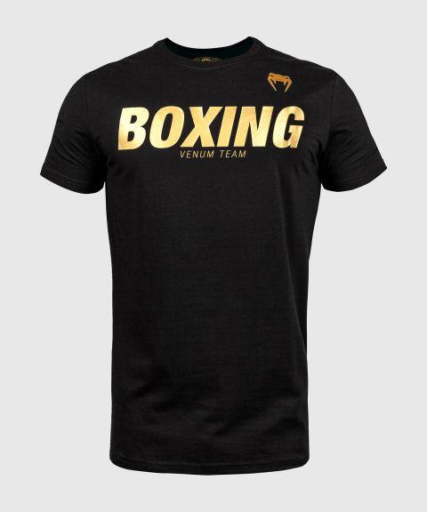 Venum Boxing VT T-shirt - Zwart/Goud