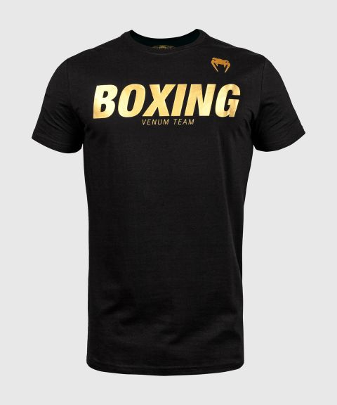 T-shirt Venum Boxing VT - Noir/Or
