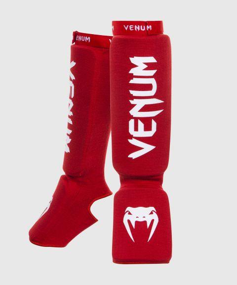 Espinilleras Venum Kontact - Rojo
