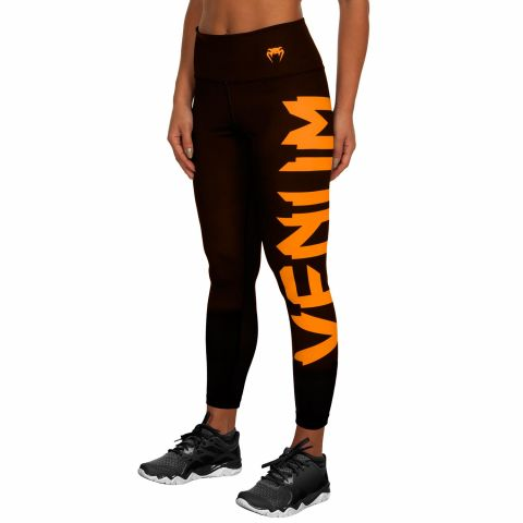 Venum Giant Leggings - Zwart/Koraalrood