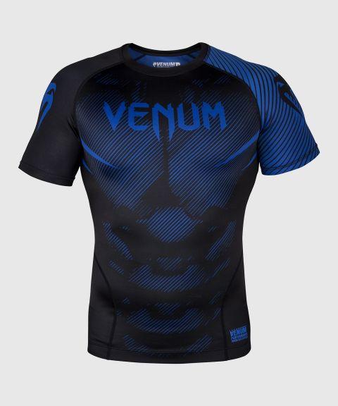 Venum NoGi 2.0 Rashguard - korte mouwen - zwart/blauw