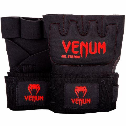 Venum Kontakt Gel Handschuh Wraps - Schwarz/Rot