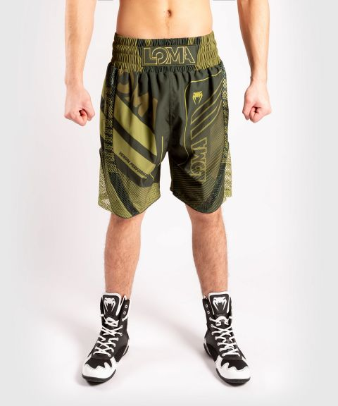 Short de Boxe Venum Commando Edition Loma - Kaki