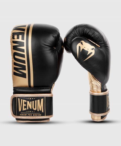 Guantoni da boxe professionali Venum Shield – Velcro - Nero/Oro